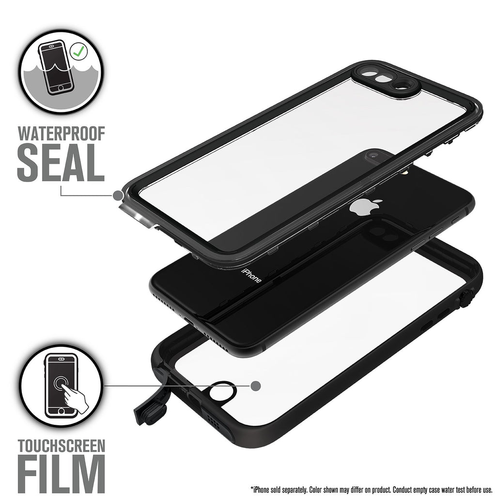 Waterproof Case for iPhone 8 Plus & 7 Plus