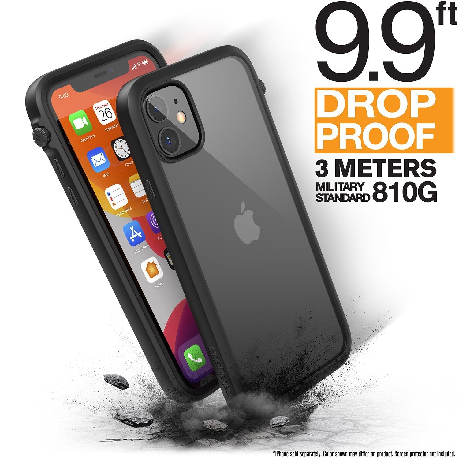 For Apple iPhone 11 Case Full Protection Waterproof Support Wireless Charging