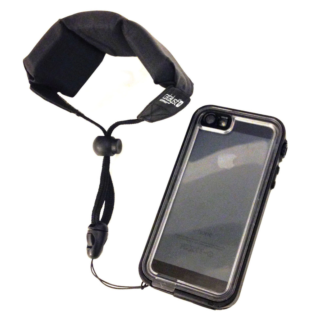 iphone lanyard case floating lanyard for catalyst iphone stealth black 7112