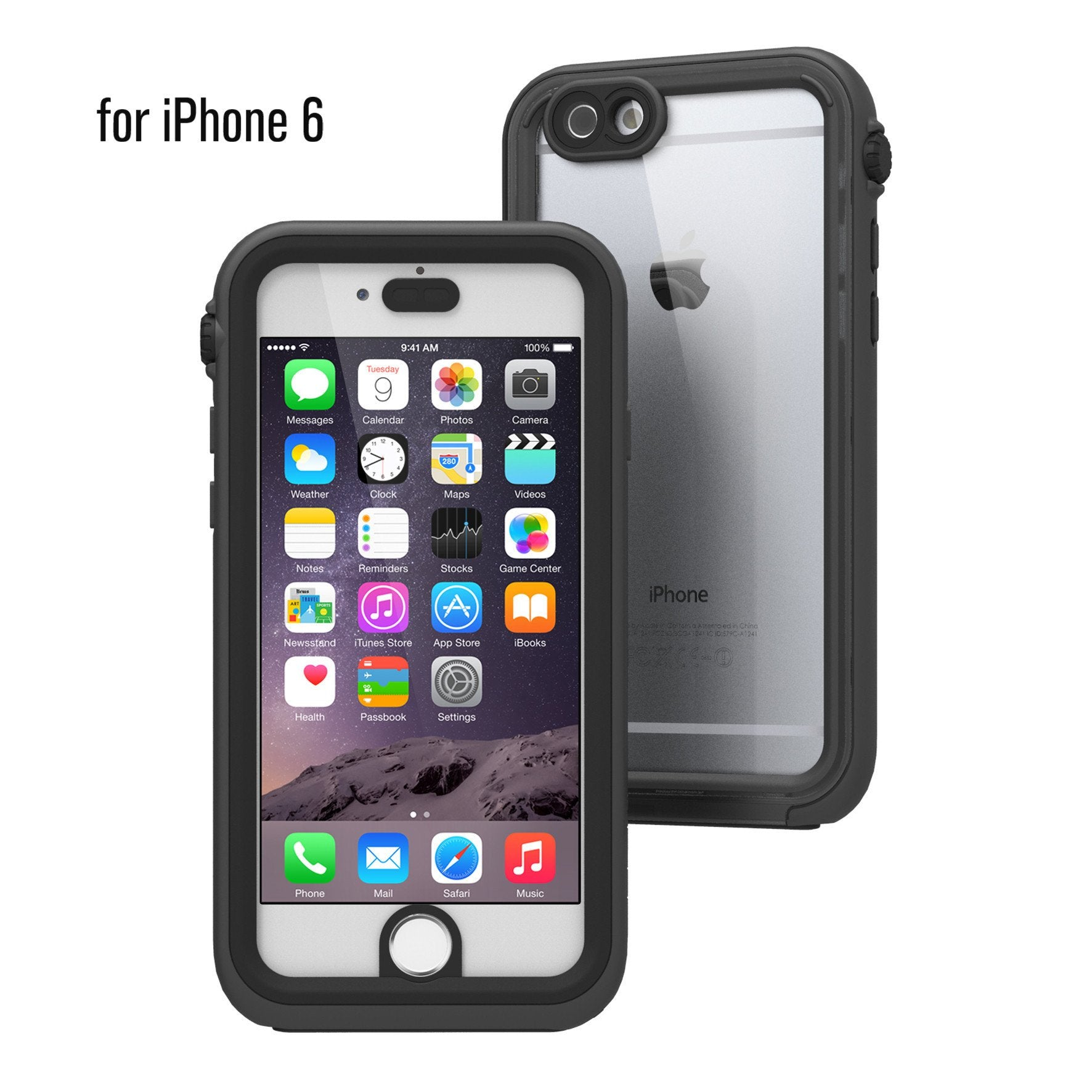 timeless design d4039 7bc27 Waterproof Case for iPhone 6