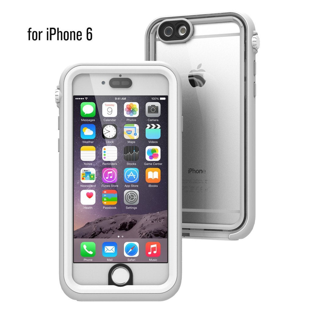 pick up 6b53e bd9b6 Buy Catalyst® Waterproof Case for iPhone 6 & Screen Protector Glass ...
