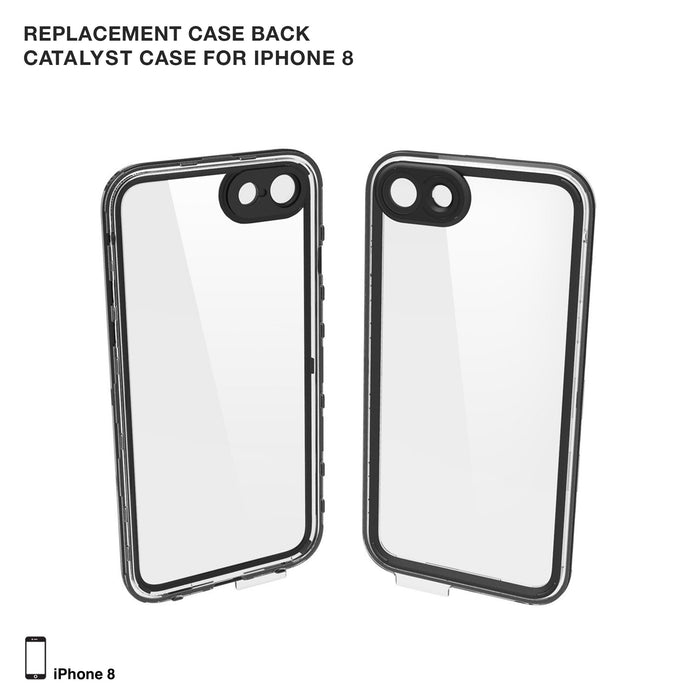 Replacement Case Back for Catalyst Case for iPhone 8