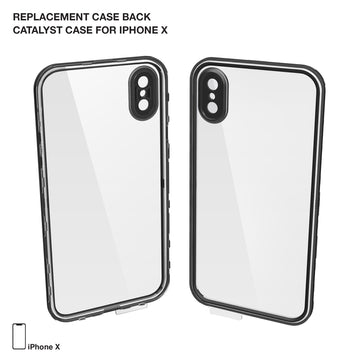 CATBACBLKX | Replacement Case Back for Waterproof Case for iPhone X