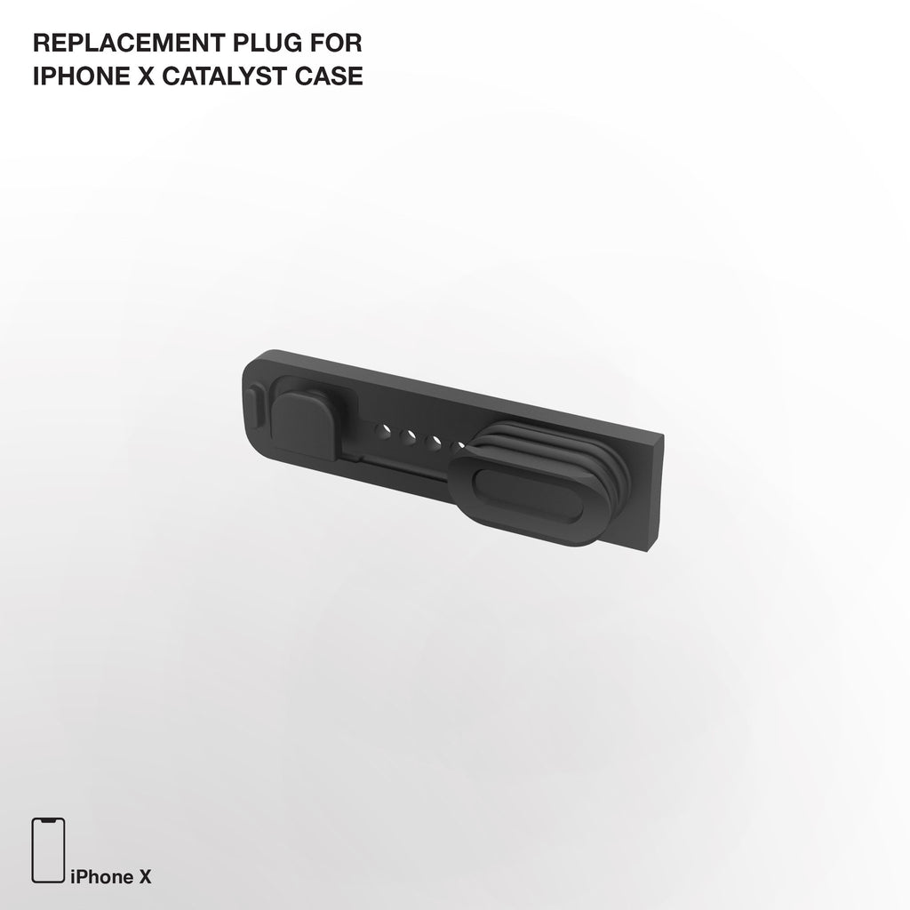 Replacement Plug for Waterproof Case for iPhone X and Xs