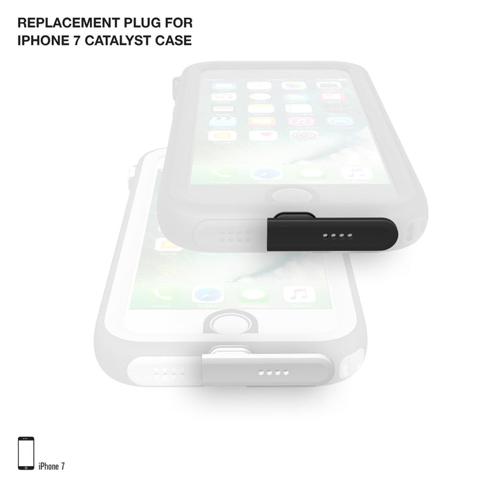 Replacement Plug for Catalyst Case for iPhone 7