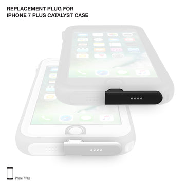 Replacement Plug for Waterproof Case for iPhone 7 Plus/8 Plus