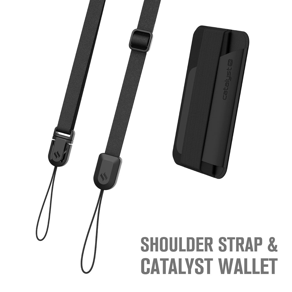 The Wanderlust Bundle Accessories - Stick-on Wallet and Shoulder Strap