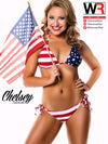 Wisconsin Red Swimsuit 2014: Chelsey - 12x16 Teaser Poster