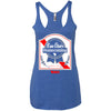 Eau Claire Homecoming: EC Ribbon Racerback Tank