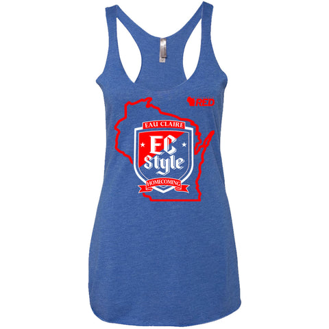 Eau Claire Homecoming: EC Style Racerback Tank