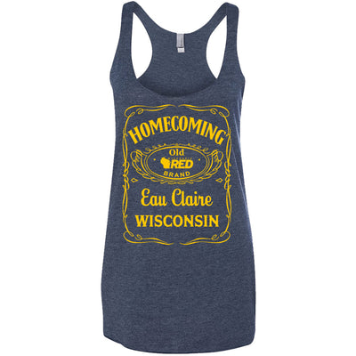 Eau Claire Homecoming: Old EC Racerback Tank