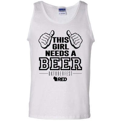Oktoberfest: This Girl Needs a Beer Tank Top
