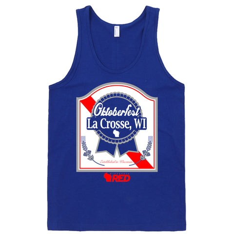 Oktoberfest: LaX Ribbon Tank Top