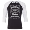 Madison: Homecoming - Old Madison Raglan