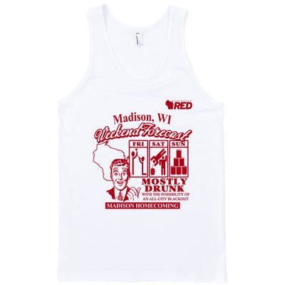 Madison: Homecoming - Weekend Forecast Tank Top