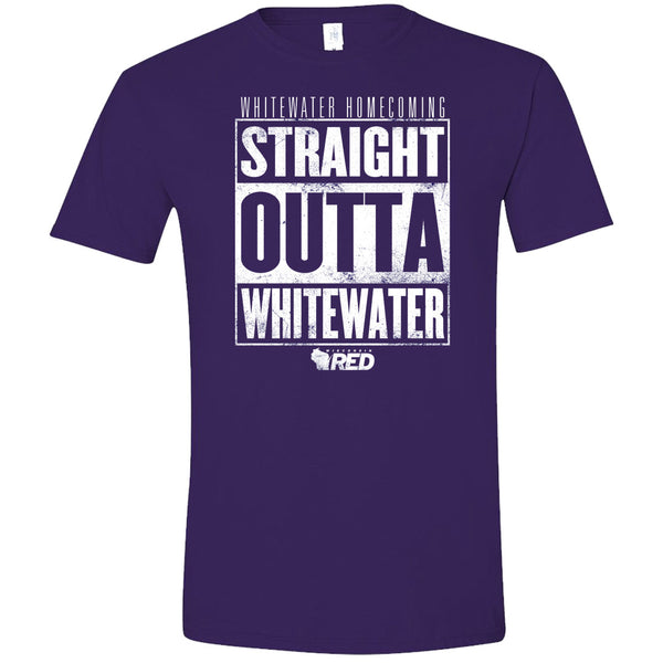 Whitewater: Homecoming - Straight Outta Whitewater T-Shirt