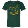 Wisconsin Hands Triblend T-Shirt