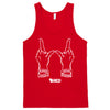Wisconsin Hands Tank Top