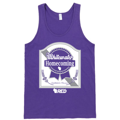 Whitewater: Homecoming - Whitewater Purple Ribbon Tank Top