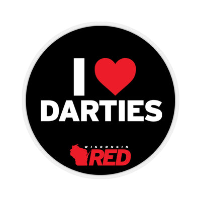 I Love Darties Sticker