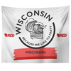 Wisconsin Wave Tapestry