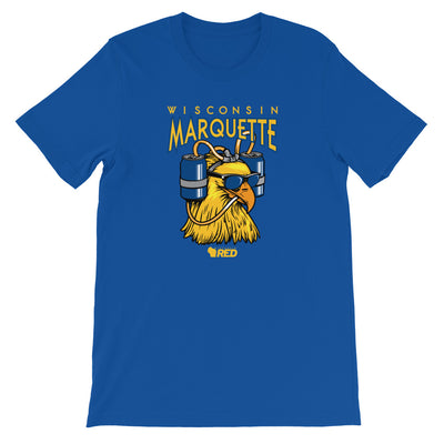 Marquette: Beer Me Bird T-Shirt