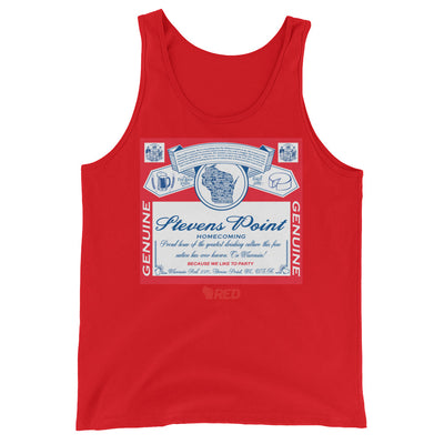 Stevens Point: Homecoming - King of Parties Tank Top
