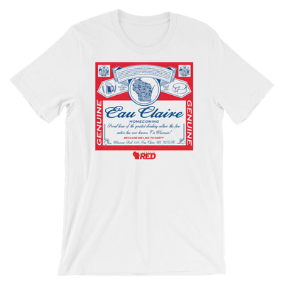 Eau Claire: Homecoming - King of Parties T-Shirt