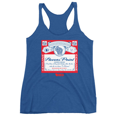 Stevens Point: Homecoming - King of Parties Racerback Tank