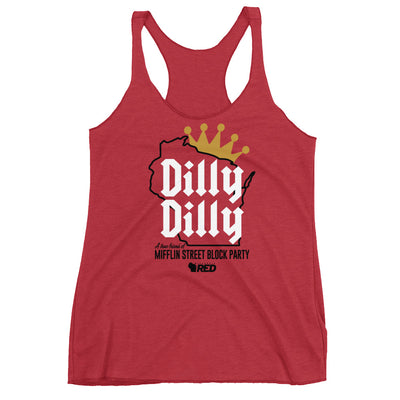 Madison: Mifflin Dilly Dilly Racerback Tank