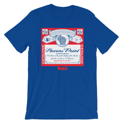 Stevens Point: Homecoming - King of Parties T-Shirt