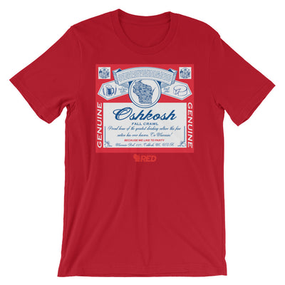 Oshkosh: Fall Pub Crawl - King of Parties T-Shirt