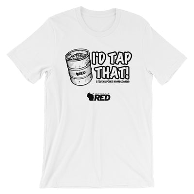 Stevens Point: Homecoming - I'd Tap That T-Shirt