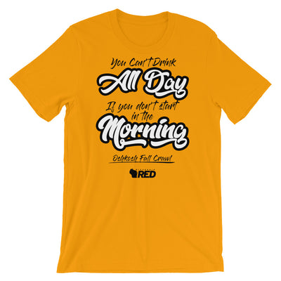 Oshkosh: Fall Pub Crawl - Start in the Morning T-Shirt