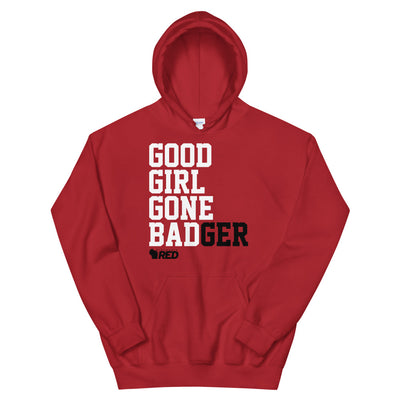Good Girl Gone BADger Hooded Sweatshirt