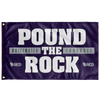 Whitewater: Football - Pound the Rock Flag (Solid)