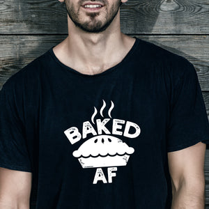 Baked AF t-shirt, birthday, Christmas, cannabis, gift