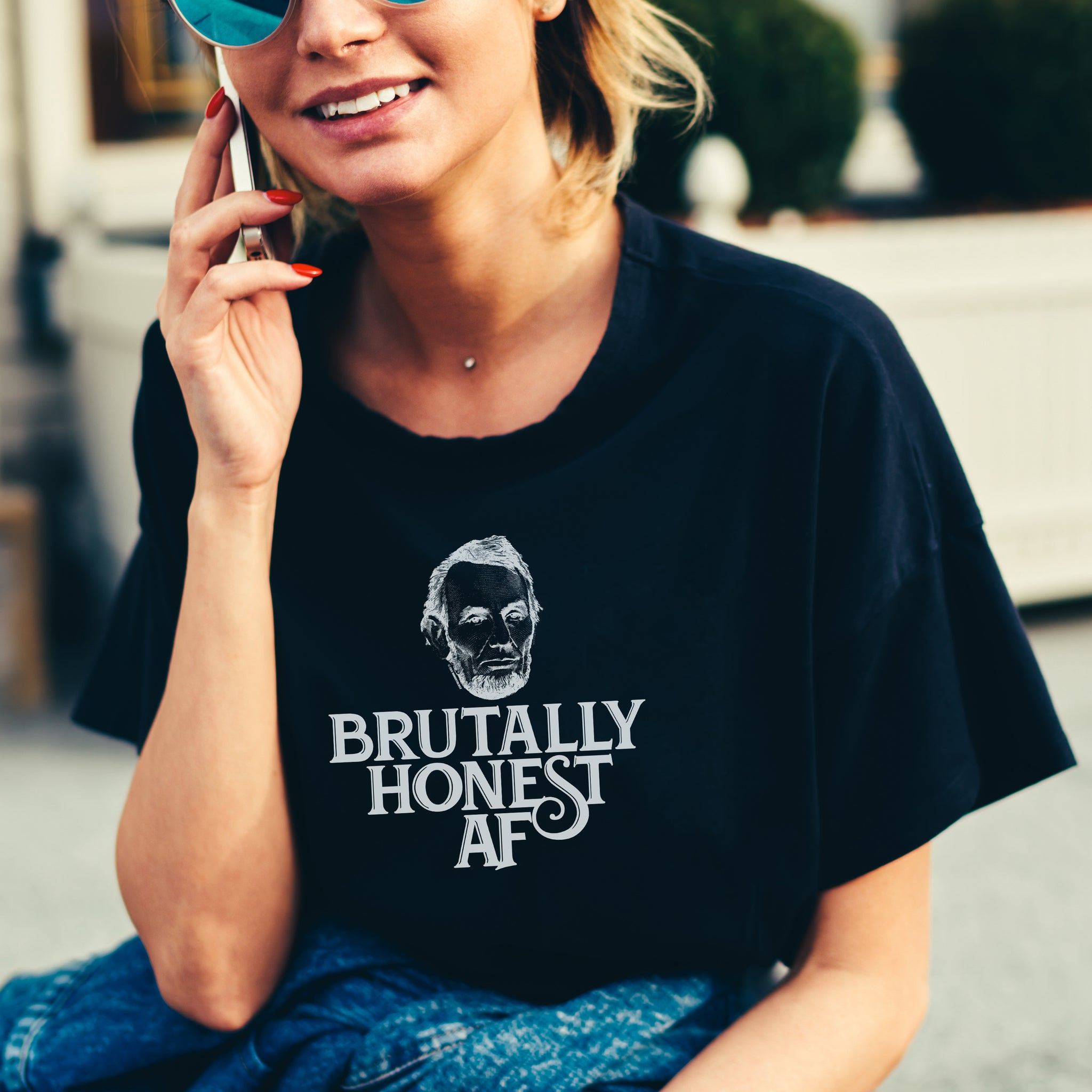 Brutally Honest AF t-shirt, birthday, Christmas, Father's Day, Mother's Day, gift