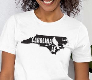 Carolina AF unisex t-shirt, birthday, Christmas, Father's Day, Mother's Day, gift