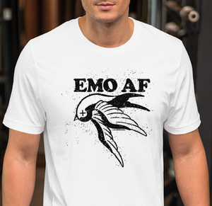 Emo AF unisex t-shirt, birthday, Christmas, Father's Day, Mother's Day, gift