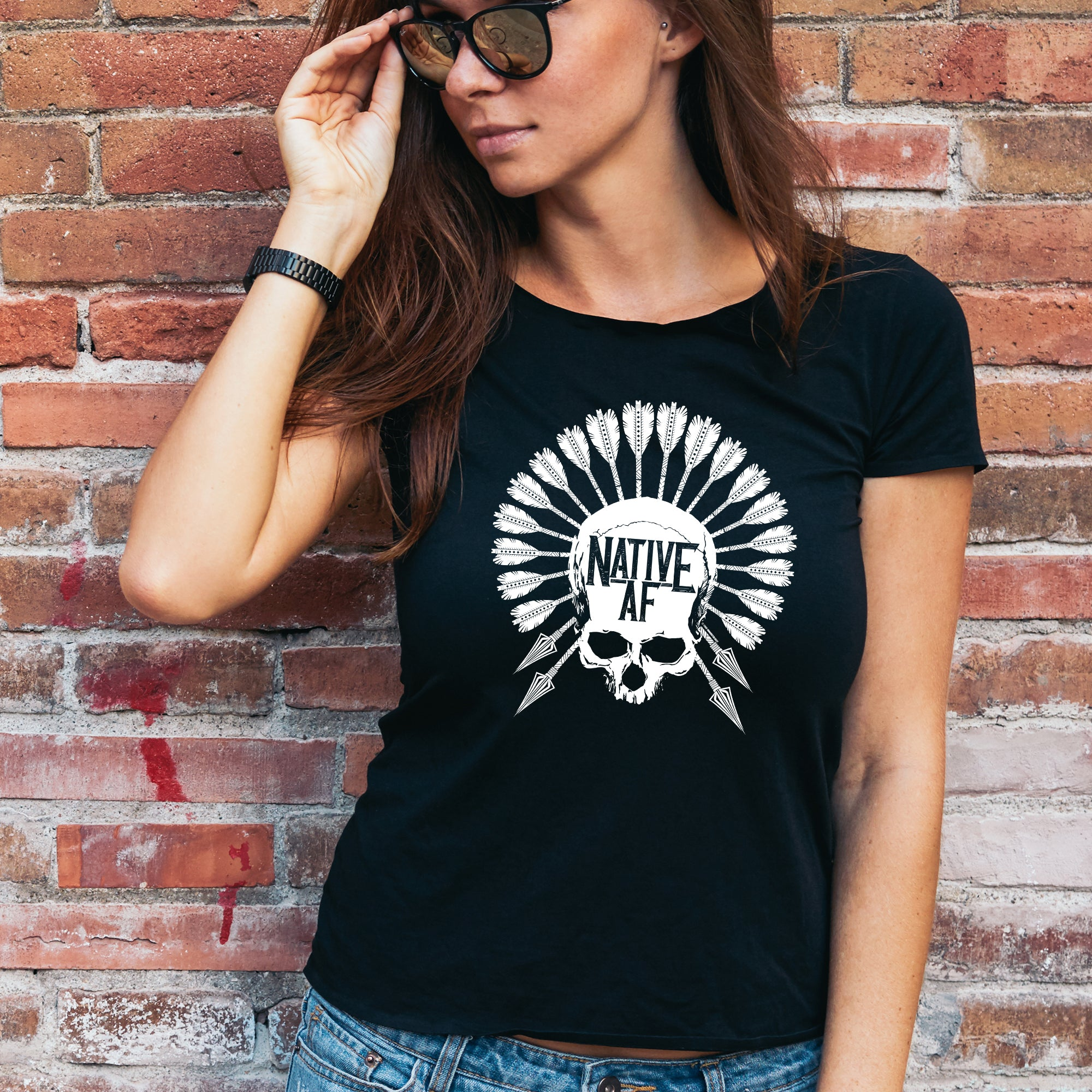 Native AF t-shirt, birthday, Christmas, Father's Day, Mother's Day, gift