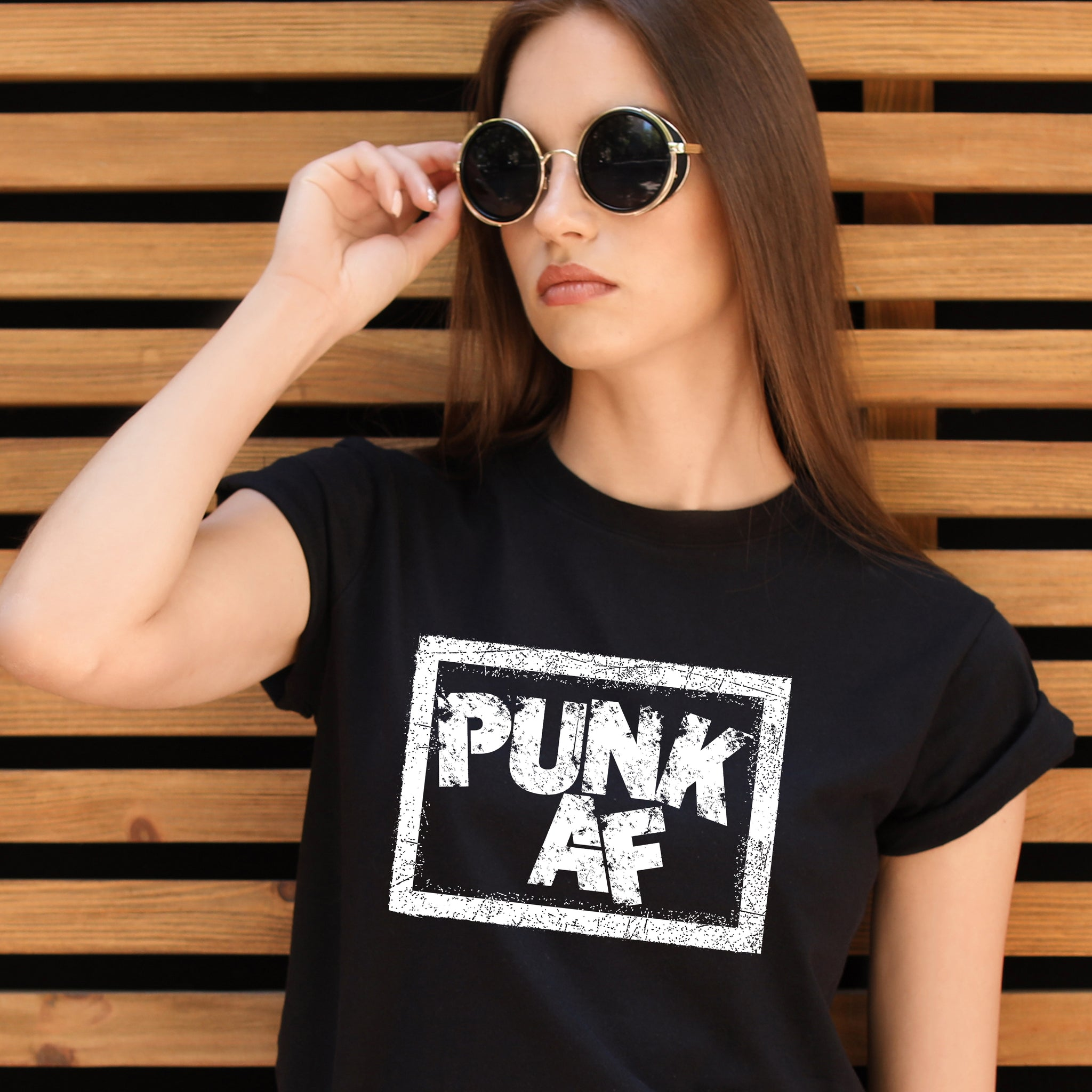 Punk AF t-shirt, birthday, Christmas, Father's Day, Mother's Day, gift
