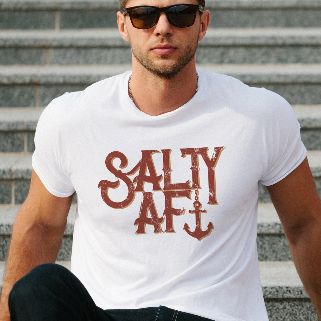 Salty AF t-shirt, birthday, Christmas, Father's Day, Mother's Day, gift