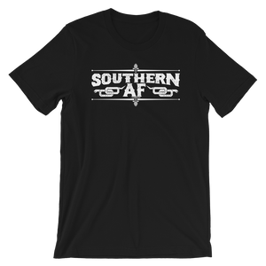 Southern AF unisex t-shirt, birthday, Christmas, NASCAR, country music, farm gift