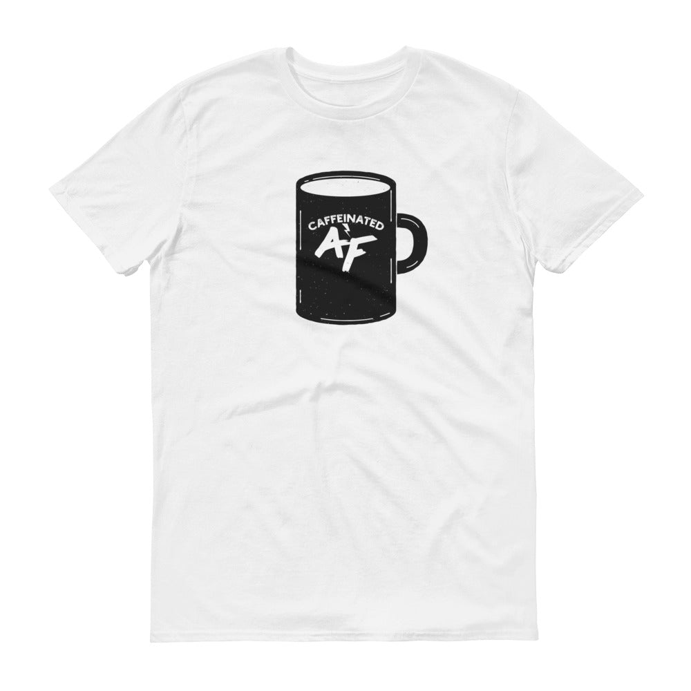 Caffeinated AF t-shirt, birthday, Christmas, Father's Day, Mother's Day, gift
