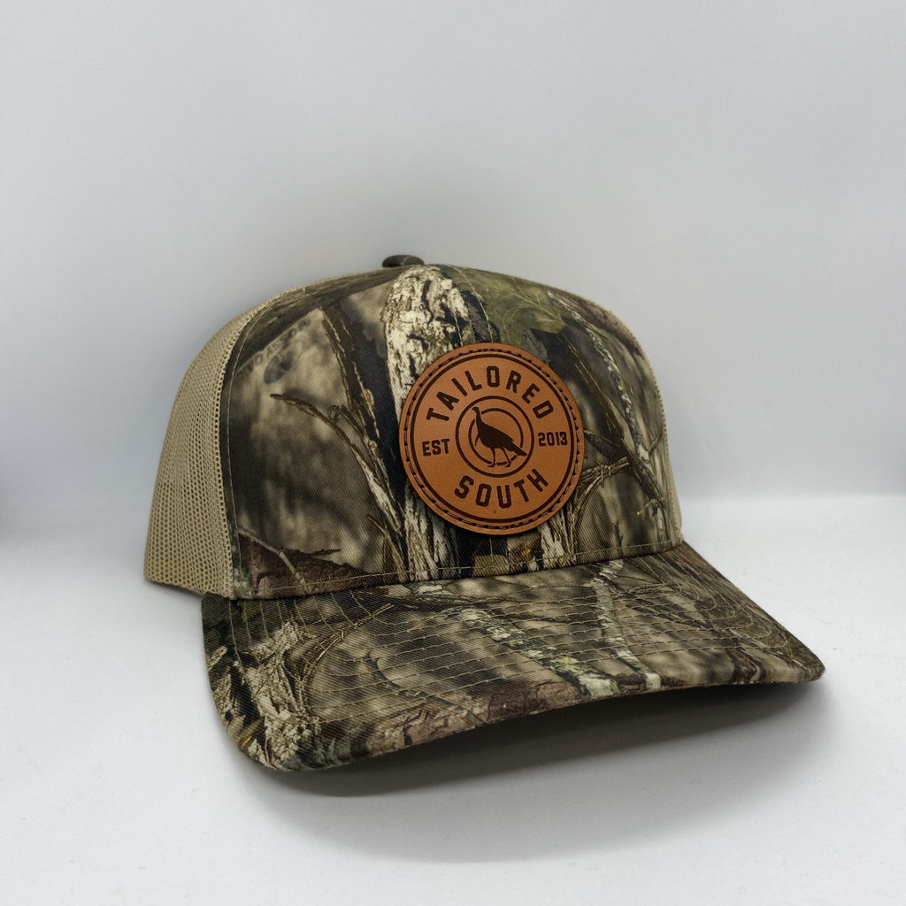 Turkey Leather Patch - Trucker hat