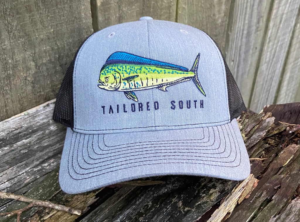 Mahi Hat - Heathered Grey/White