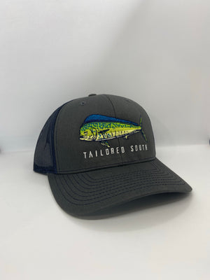 Mahi Hat - Charcoal/Navy