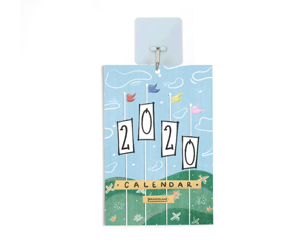 Light Blue Calendar Hook