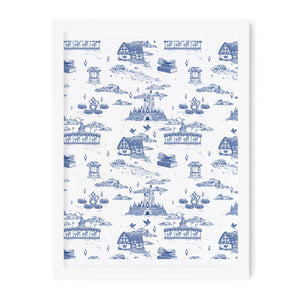 Fantasyland French Toile Art Print